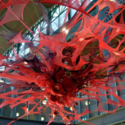 Madeleine BERKHEMER - 1% artistique MOLLY'S chandelier 2008