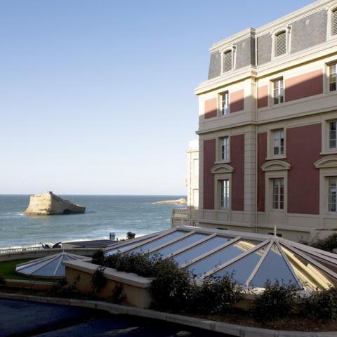 Spa et centre de remise en forme de l 39 h tel du palais de - Prix chambre hotel du palais biarritz ...