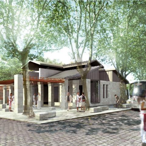 Concours restructuration office de tourisme projet p les administratifs publics tertiaire - Bayonne office de tourisme ...
